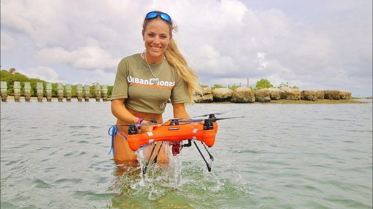WORLD'S FIRST WATERPROOF DRONE - YouTube #quadcopters #dronetip