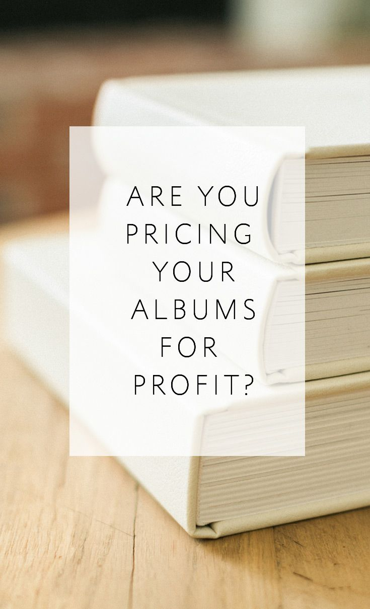 How to Price Wedding Albums