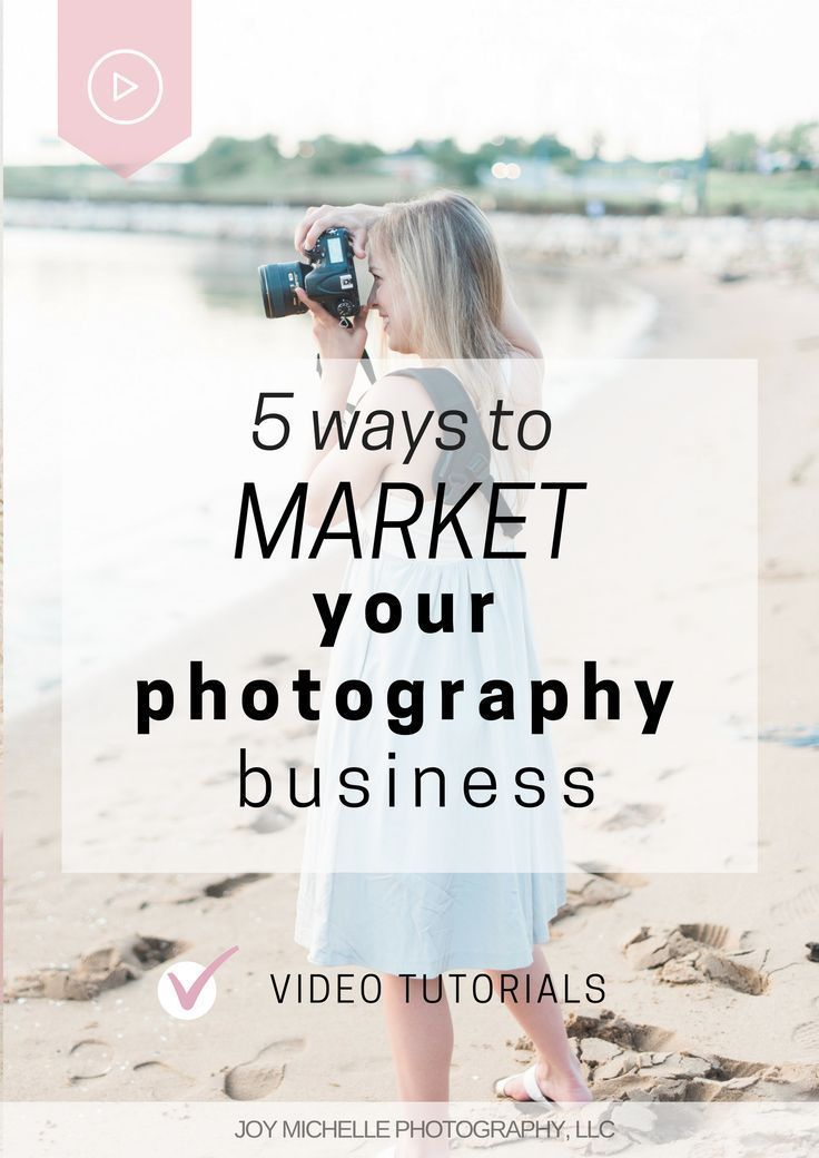5 ways to market you photography business and get more clients when you don't have money to spend. | Joy Michelle Photography wedding photography education