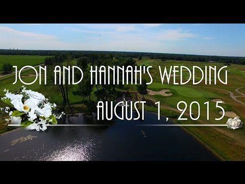 Jon and Hannah's Wedding via drone - Noblesville, Indiana - YouTube #wedding #aerial #video #drone #dji #phantom3