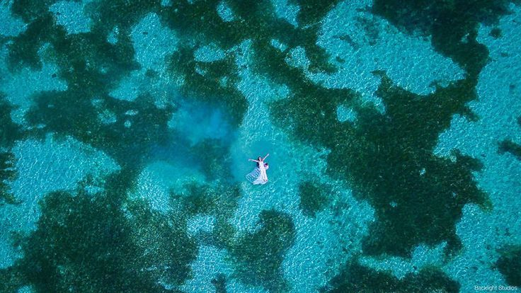 Wedding drone photography : Aerial Wedding Photography Shot With Drone