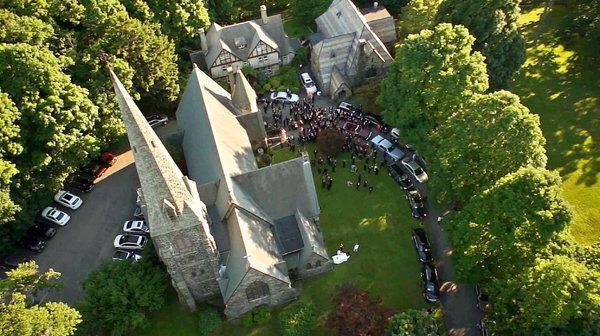 Wedding drone photography : www.aerialapertur  I love this something completely new to weddings (just wh