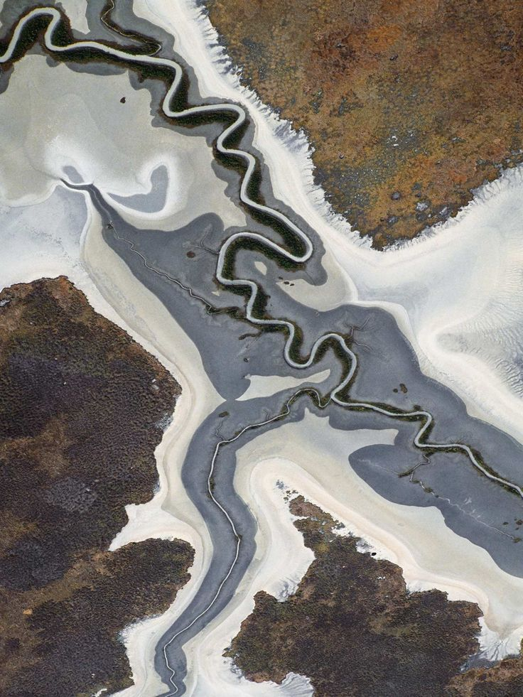 Richard Woldendorp Captures Abstract Aerial Photography of Australia