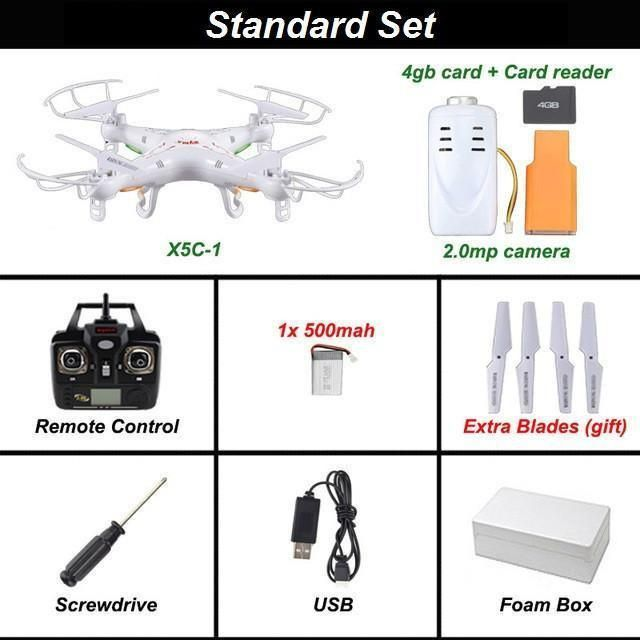 Supafly Quadcopter Drone