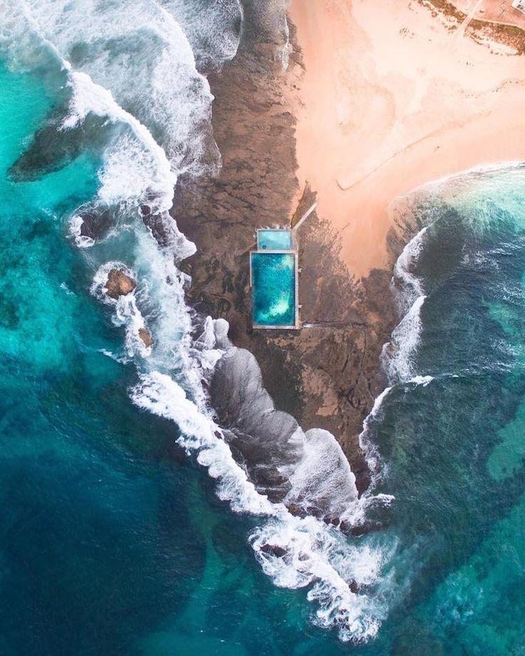 Un Photographe de 20 ans capture des Images aériennes saisissantes des Côtes australiennes