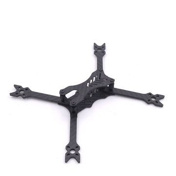 HANTU 5 Inch 210mm Carbon Fiber Frame Kit 4mm Arm With 3D Printed Parts for RC FPV Racing Drone