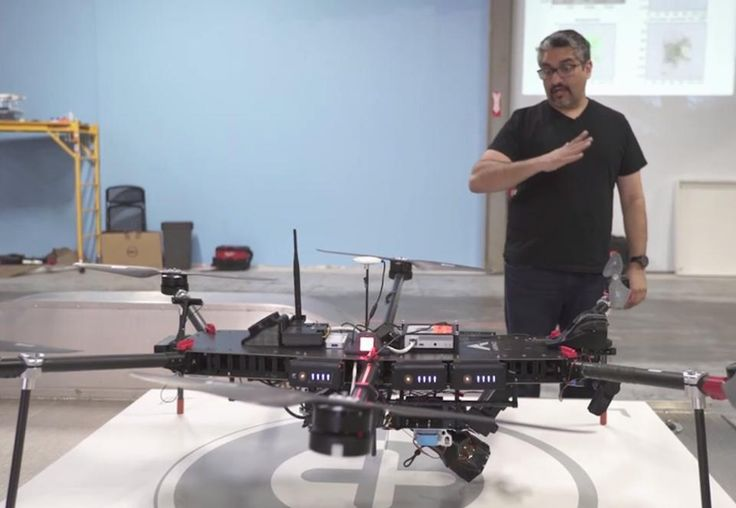 Meet the Ultimate Drone-Catching Drone