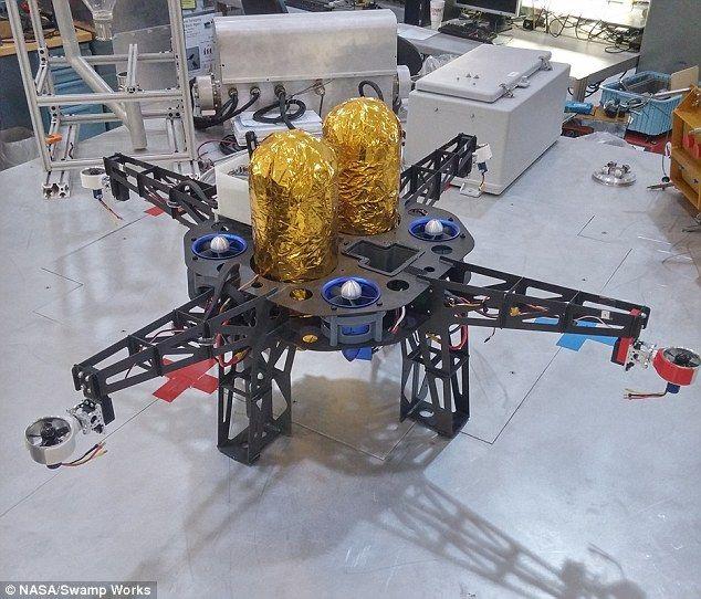 Nasa is building drones to explore extinct volcanoes on the moon