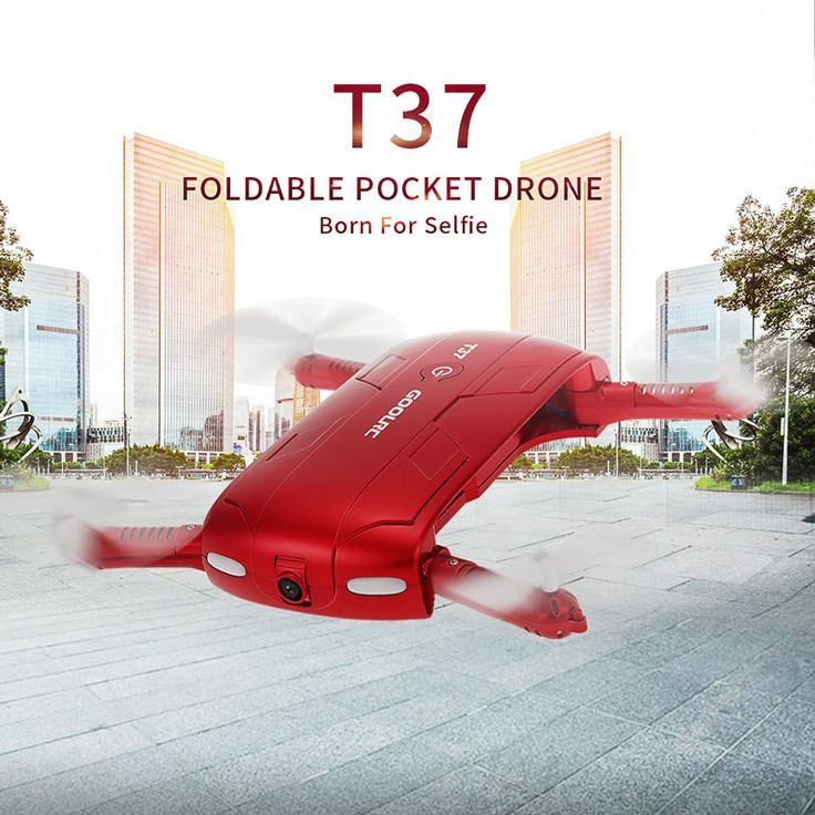 Drone Quadcopter : GoolRC T37 Wifi FPV HD Camera G-sensor Altitude Hold Foldable Mini Selfie RC Drone Quadcopter