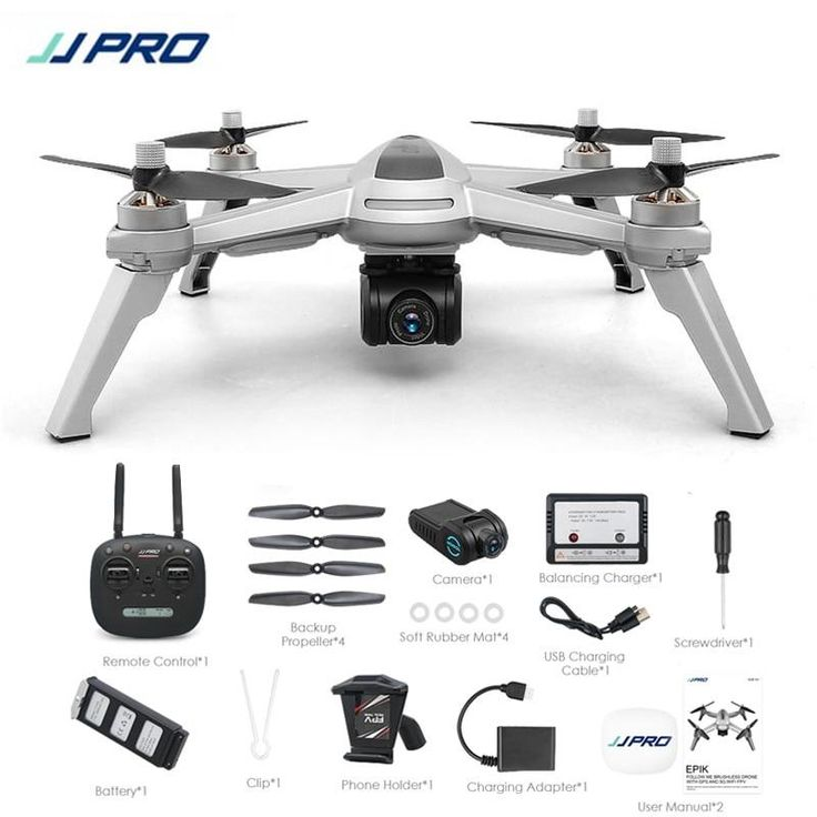 JJPRO GPS WIFI FPV With 1080P HD Camera Follow Me Altitude Hold RC Drone Quadcopter HOT