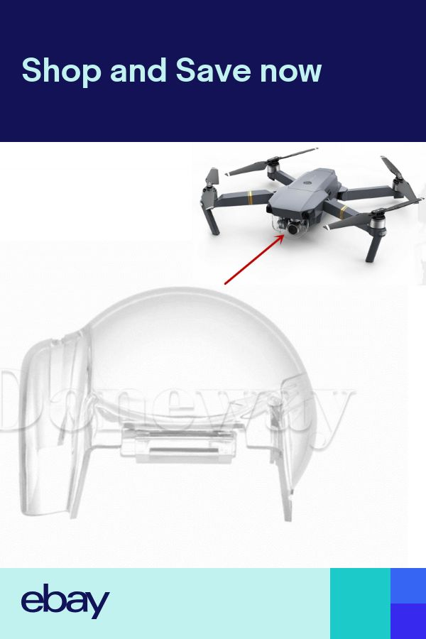 Protective Gimbal Cover Waterproof Clear Cap for DJI Mavic Pro Drone Quadcopter