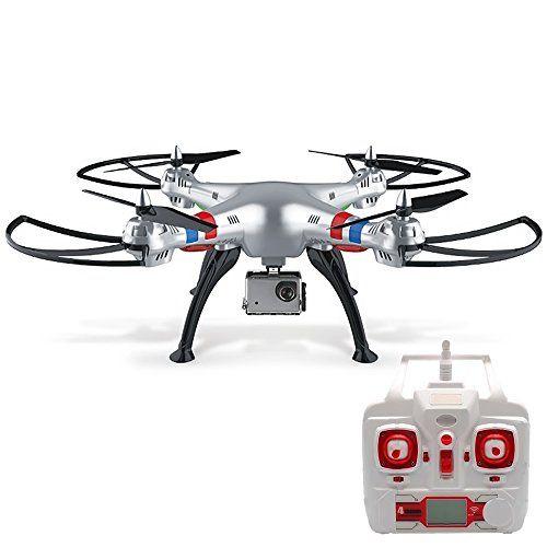 Vococal - SYMA X8G Drone Quadcopter RC - 4 Canales,6 Eje Giro,Remoto Control - H...