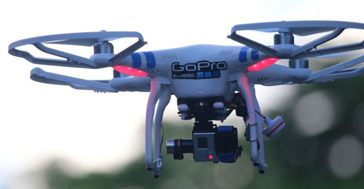 One Dad Was Arrested for Shooting Down Spying Drone.