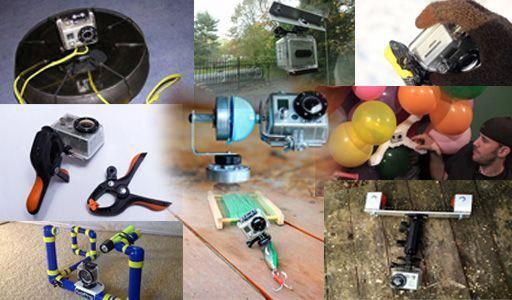 People Drone Photography : Here are 11 DIY solutions to sticking a GoPro practic...