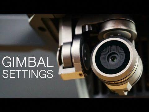People Drone Photography : How To Adjust Gimbal Tilt And Speed Settings | DJI Mavic Pro  YouTube #dronephotographyideaspeople