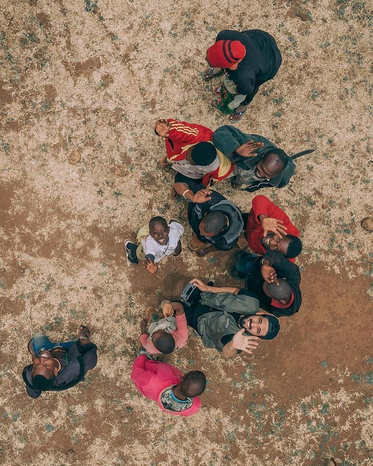 People Drone Photography : Tanzania From Above: Stunning Drone Photography by Martin Sanchez