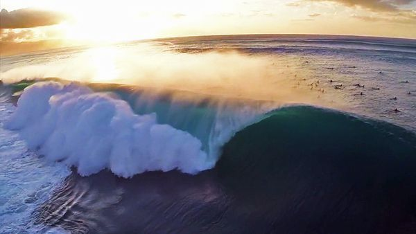 People Drone Photography : The Rise of the Surf Drone
