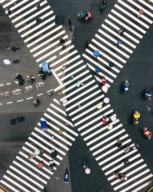 People Drone Photography : The new view from above: drone photography captures city symmetry  in pictures