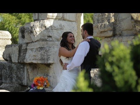 St Louis Wedding Videography - Danny and Alexis Wedding Highlight Video - St. Louis Banquet Center/Corondolet Park         Fountain, park setting, Drone video, limbo contest, dancing