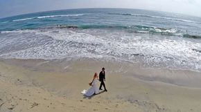 Wedding drone photography : 15 beautiful wedding photos taken by drones