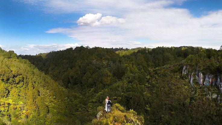 Wedding drone photography : Drone wedding photography New Zealand