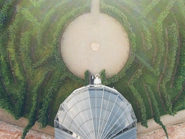 Wedding drone photography : Junebug Favorites: Top Pics of the Week  November 14