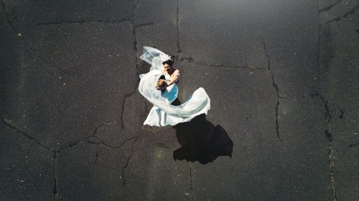 Wedding from above Drone photography #weddingphotography