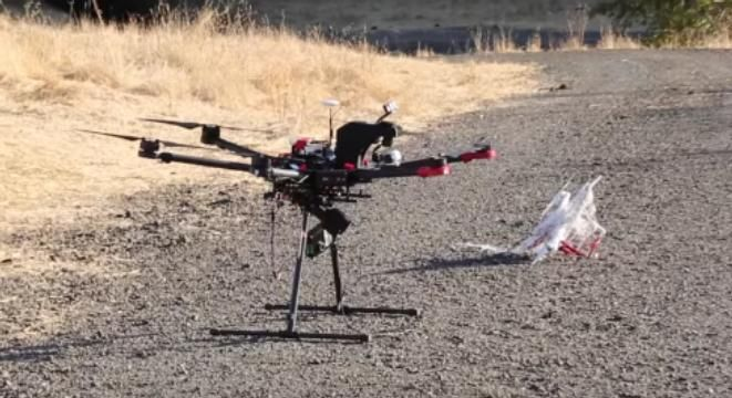 A Drone That Automatically Hunts Down And Captures Other Drones With A Net