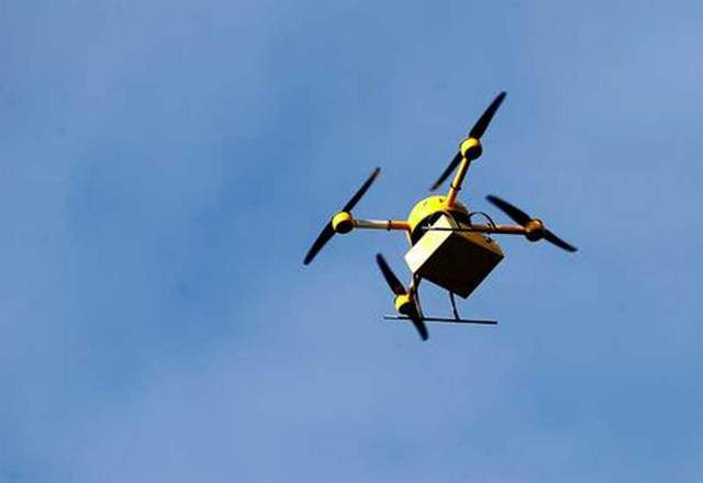 Appalachian Trail Conservancy and Google Express Launch Air-Drop Airborne Drone Resupply Service on Appalachian Trail
