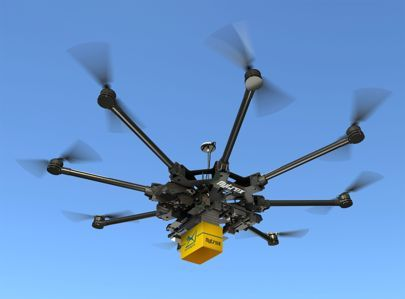 Drone deliveries to take to the skies in Ukraine