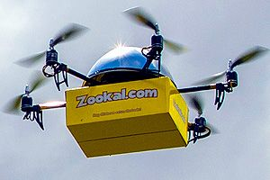 Drone delivery service planned for Australia