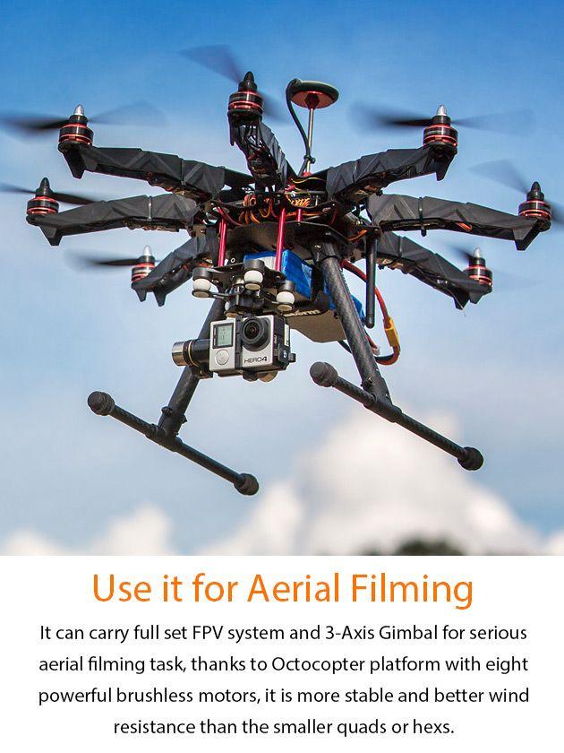 STORM Drone 8 GPS Flying Platform (RTF / NAZA V2)