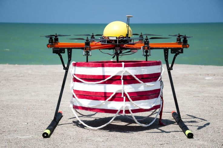 Some drones can kill you, this one could save your life