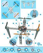 Anatomy of a Drone   Make: