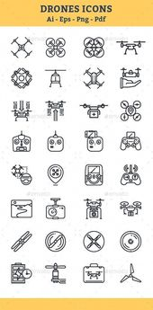 Quadrocopter, #Multicopter, Drone #Icons - Icons #Dronedesign #bestdronesforbegi...