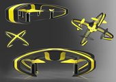 Parrot Drones (concept) on Behance #QuadcopterDronesProducts