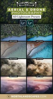 Aerial & Drone Photography | Lightroom Presets Workflow