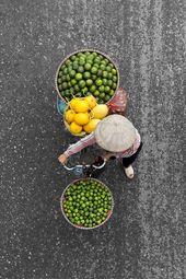 Loes Heerink photographie les Vendeurs de Rue au Vietnam