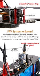 STORM Racing Drone (SRD9-GPS / NAZA V2)