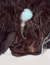 Glacier Pools found in Iceland. Aerial photography project by Tom Hegen. #aerial...