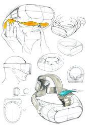 Virtual Reality Head-mounted Display Concept