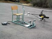 Heli Chair! RC helicopter seat