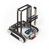 Minibuilders - How to 3d Print Big Structures With Small Robots