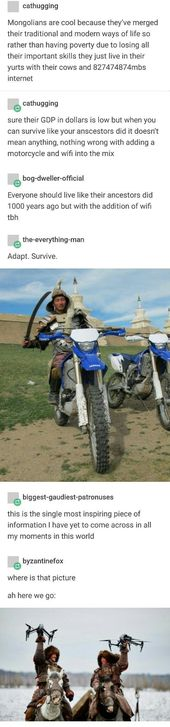 Mongolians, merging tradition and technology Rachel Raney - - #technology