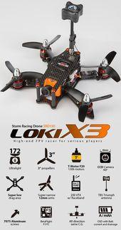 STORM Racing Drone (Loki-X3 / T-motor Spec)