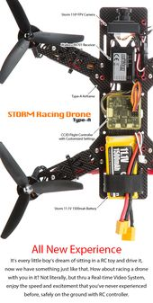 STORM Racing Drone (Type-A V4 / with RC Tx)