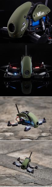 Storm Racing Drone SRD280 Military Spec - Ready to Fly Package Handcrafted by St...