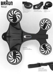 Drone Design : Using the brand research on Braun that i conducted together with the form langua... - DronesRate.com | Your N°1 Source for Drone Industry News & Inspiration
