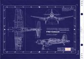 Chance Vought F4U Corsair   WWII (USAAF) United States