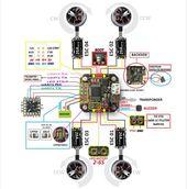 CleanFlight & BetaFlight Micro F3 Flight Controller Built-in PDB Buzzer Port 20X...